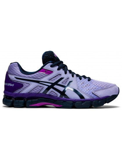 ASICS GEL-RINK SCORCHER 4 (D) WOMENS LAWN BOWLS SHOES VAPOR/FRENCH BLUE  - AVAILABLE NOW