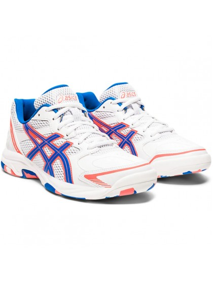 ASICS GEL-SHEPPARTON 2 WOMENS LAWN BOWLS SHOES WHITE/ELECTRIC BLUE
