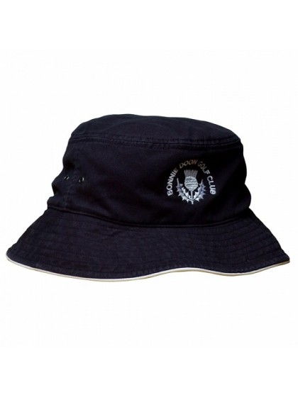 CLUB CUSTOMISED LAWN BOWLS CAPS - COTTON BUCKET HAT