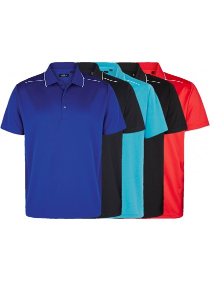 CLUB CUSTOMISED DASH MENS LAWN BOWLS POLO