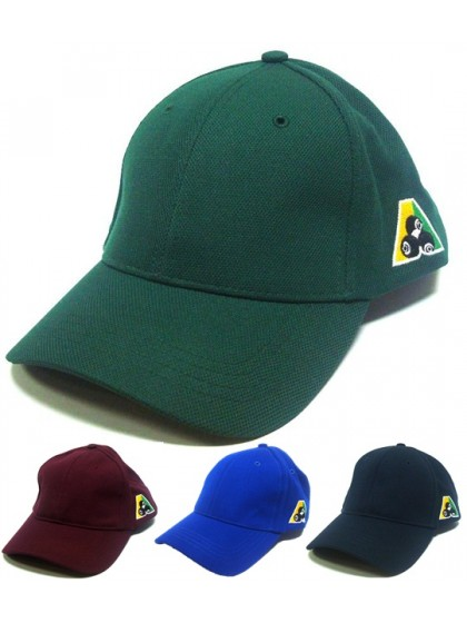 CLUB CUSTOMISED LAWN BOWLS CAPS - PIQUE MESH BASEBALL HAT
