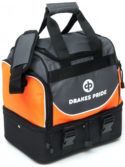 """DRAKES PRIDE  'NEW & IMPROVED"""" PRO MIDI LAWN BOWLS BAG Incl INSERT BAGS"""