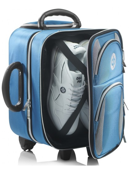 "DRAKES PRIDE 'NEW & IMPROVED"" LOCKER TROLLEY LAWN BOWLS BAG"