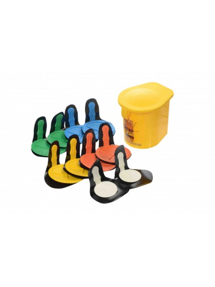 REBOUND DISC VELCRO FIX SET OF 10