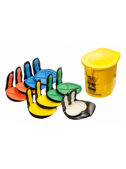 REBOUND DISC VELCRO FIX SET OF 12