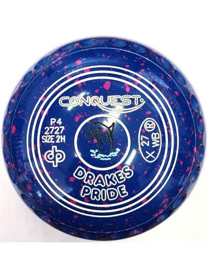 CONQUEST SIZE 2H GRIP BLUE PINK P4 2727
