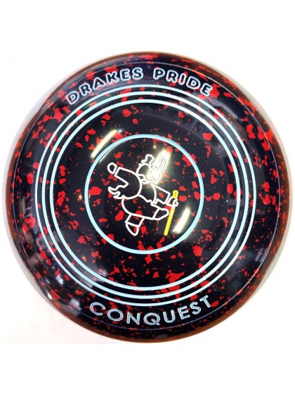 CONQUEST SIZE 3H PLAIN DARK BLUE RED P4 2728