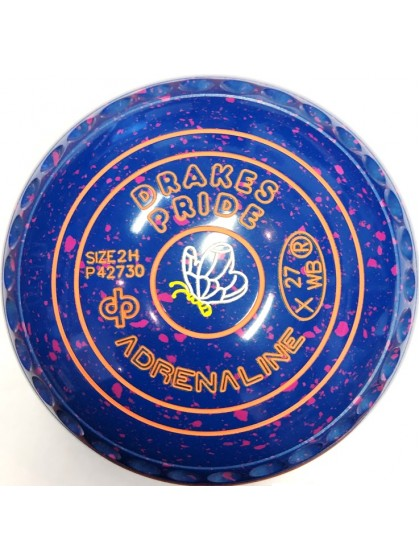 ADRENALINE SIZE 2H GRIP BLUE PINK P4 2730