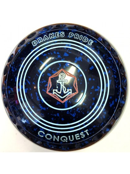 CONQUEST SIZE 4H GRIP BLUE SPECKLED P1 2216