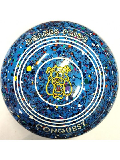 CONQUEST SIZE 0H GRIP SKY BLUE HARLEQUIN P1 2213