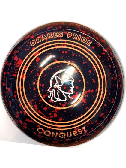CONQUEST SIZE 3H PLAIN DARK BLUE RED P7 3878