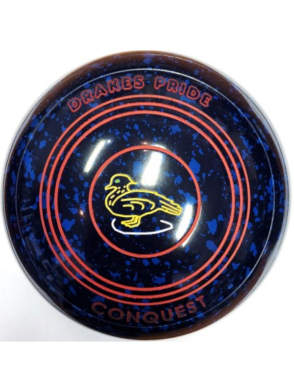 CONQUEST SIZE 3H PLAIN BLUE SPECKLED P9 3878