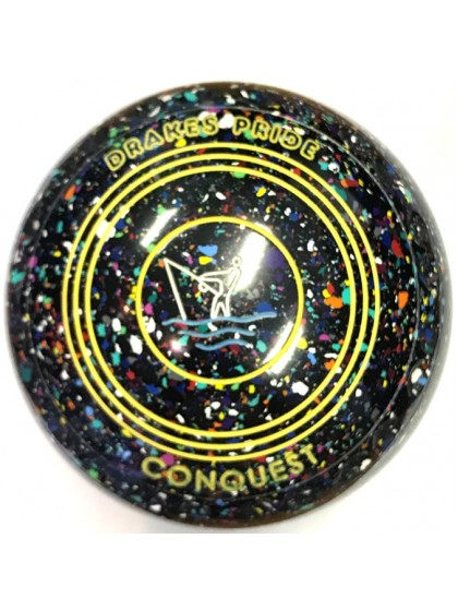 CONQUEST SIZE 3H GRIP BLACK HARLEQUIN N1 1796