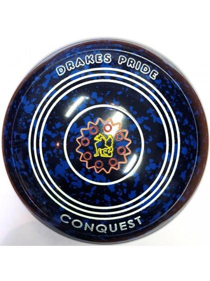 CONQUEST SIZE 4H PLAIN BLUE SPECKLED P9 3879