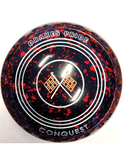 CONQUEST SIZE 4H GRIP DARK BLUE RED P3 3879