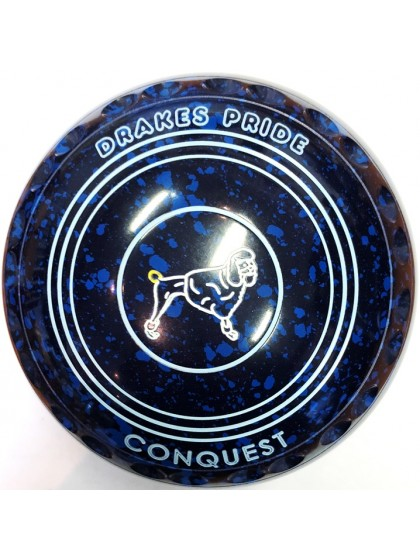 CONQUEST SIZE 1H GRIP BLUE SPECKLED P4 4000