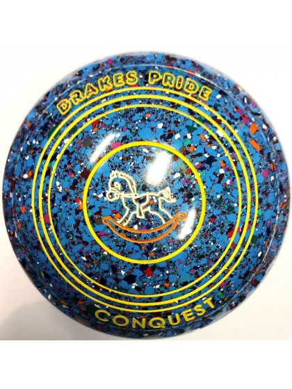 CONQUEST SIZE 0H GRIP SKY BLUE HARLEQUIN P3 4163