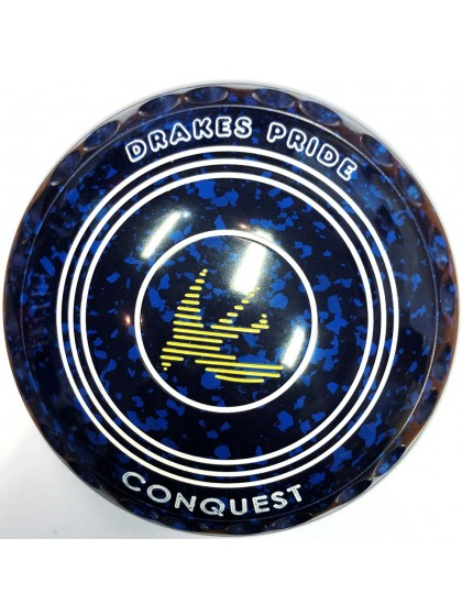CONQUEST SIZE 4H GRIP BLUE SPECKLED P1 4167