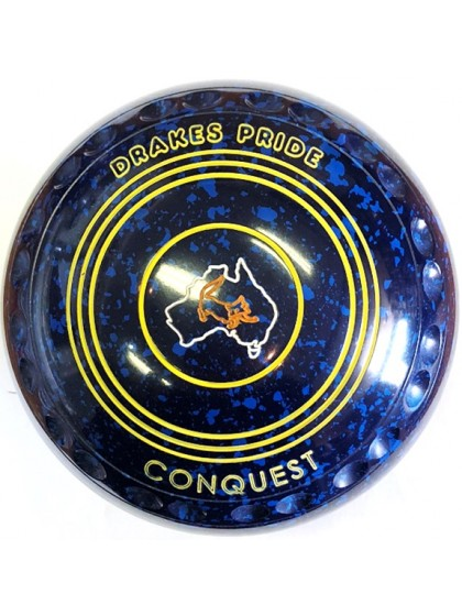 CONQUEST SIZE 3H GRIP BLUE SPECKLED P1 4166