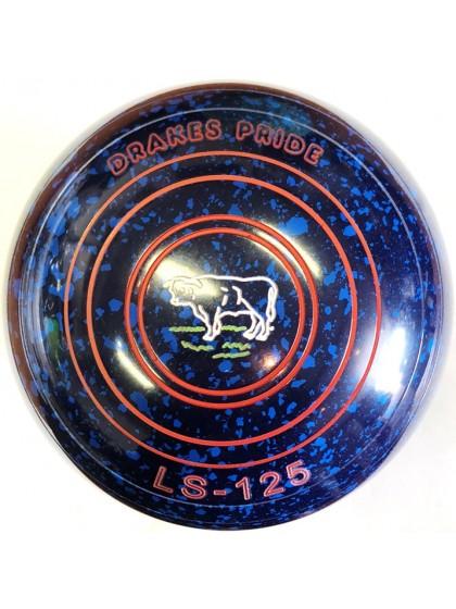 LS-125 SIZE 4H PLAIN BLUE SPECKLED P5 4437