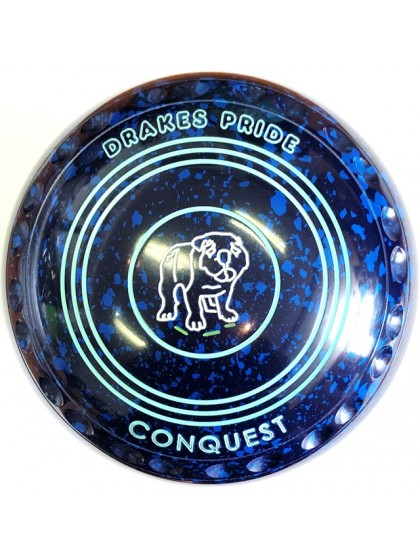 CONQUEST SIZE 4H GRIP BLUE SPECKLED P1 4434