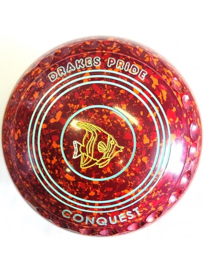 CONQUEST SIZE 2H GRIP MAROON RED ORANGE P1 4556