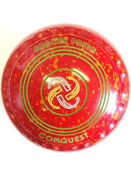CONQUEST SIZE 2H GRIP RED ORANGE P2 4556