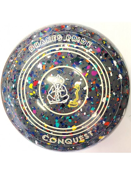 CONQUEST SIZE 3H GRIP GREY HARLEQUIN P3 4488