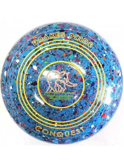 CONQUEST SIZE 2H GRIP SKY BLUE HARLEQUIN P4 4328