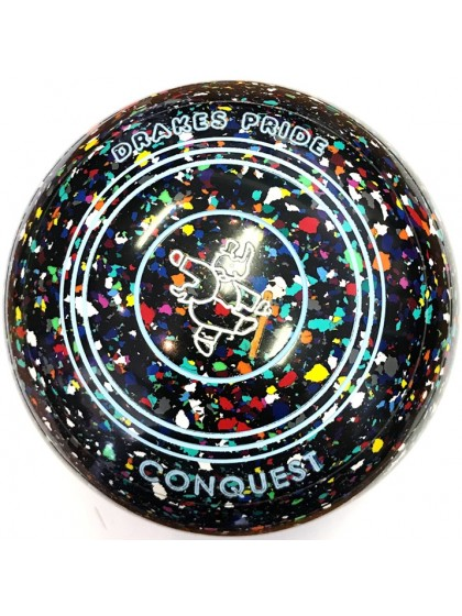 CONQUEST SIZE 4H GRIP BLACK HARLEQUIN N8 1701