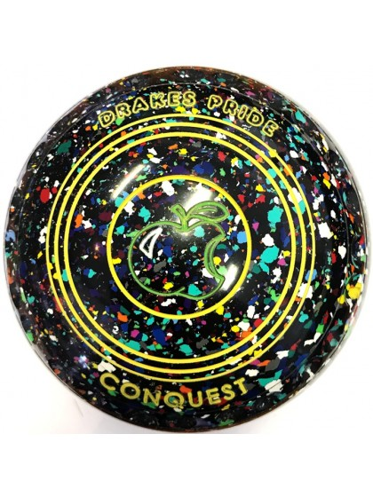 CONQUEST SIZE 4H GRIP BLACK HARLEQUIN N2 1701