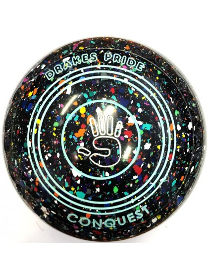 CONQUEST SIZE 3H GRIP BLACK HARLEQUIN N0 1700