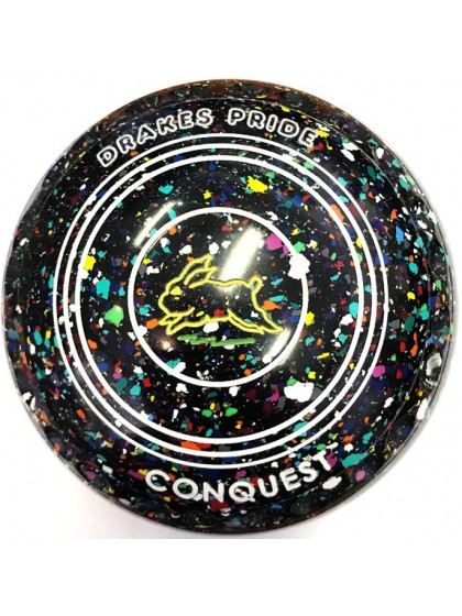 CONQUEST SIZE 4H GRIP BLACK HARLEQUIN N1 1701