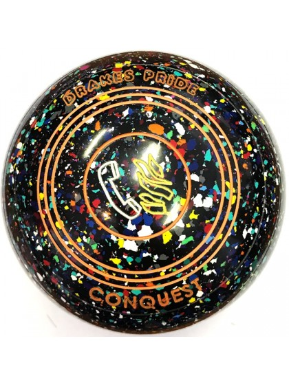 CONQUEST SIZE 3H GRIP BLACK HARLEQUIN N9 1700