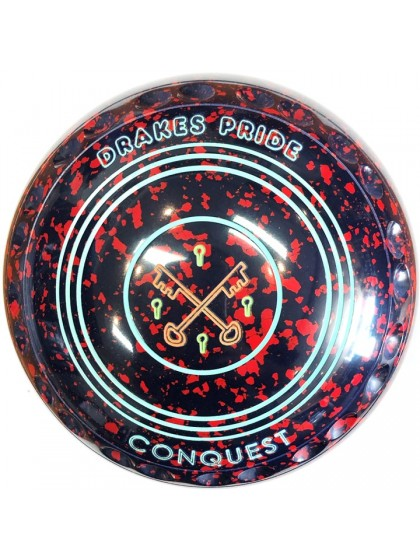 CONQUEST SIZE 3H GRIP DARK BLUE RED P1 4927