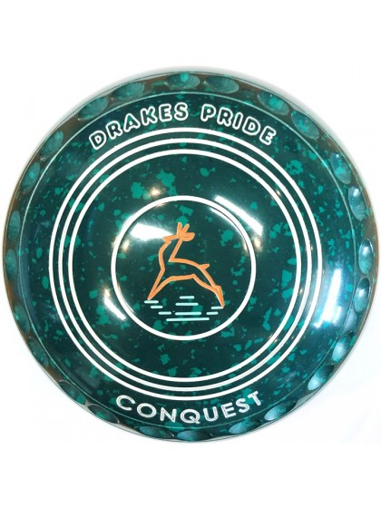 CONQUEST SIZE 4H GRIP GREEN SPECKLED P4 4928