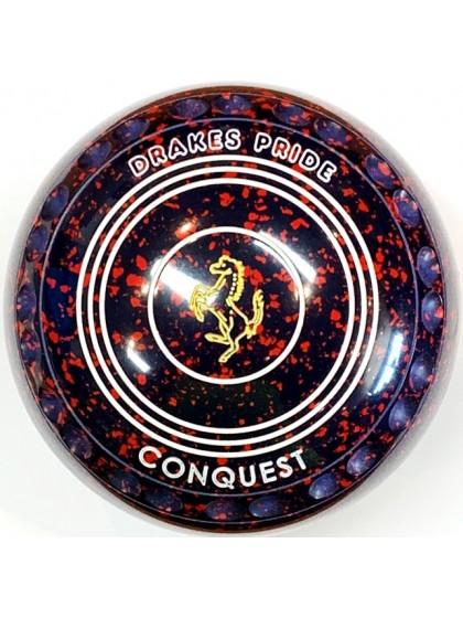 CONQUEST SIZE 2H GRIP DARK BLUE RED R1 6622