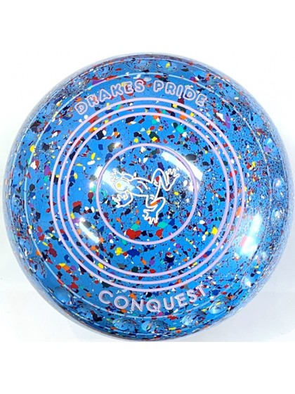 CONQUEST SIZE 4H GRIP SKY BLUE HARLEQUIN R1 7708