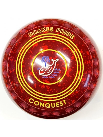 CONQUEST SIZE 4H GRIP MAROON RED R2 6793