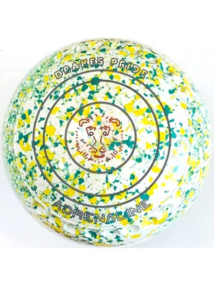 ADRENALINE SIZE 4H GRIP WHITE YELLOW GREEN R3 5686