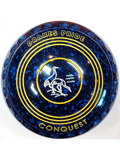 CONQUEST SIZE 2H GRIP BLUE SPECKLED R3 6606