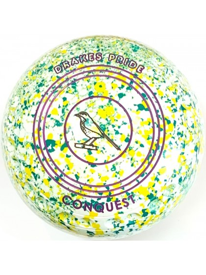 CONQUEST SIZE 4H GRIP WHITE YELLOW GREEN R4 6624