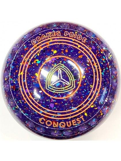 CONQUEST SIZE 1H GRIP PURPLE HARLEQUIN R4 6790