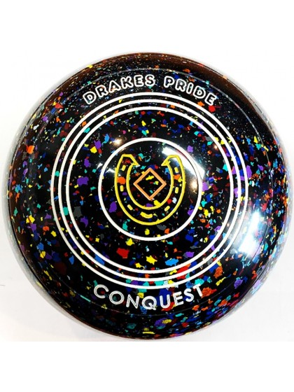 CONQUEST SIZE 4H PLAIN BLACK HARLEQUIN R4 7708