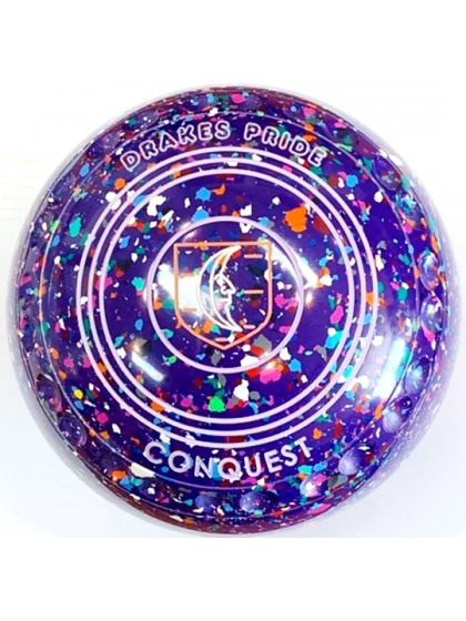 CONQUEST SIZE 3H GRIP PURPLE HARLEQUIN R5 5689