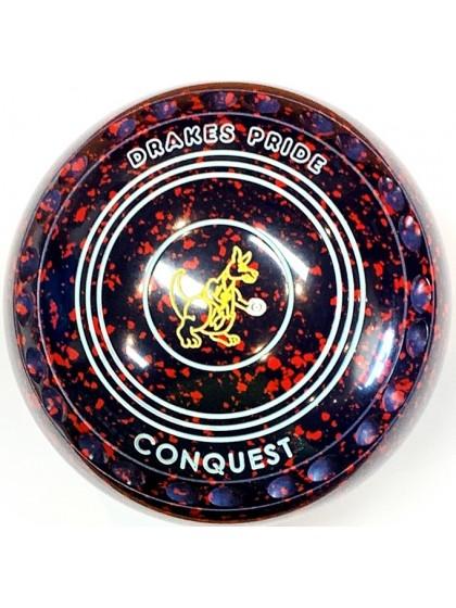 CONQUEST SIZE 4H GRIP DARK BLUE RED R5 6624
