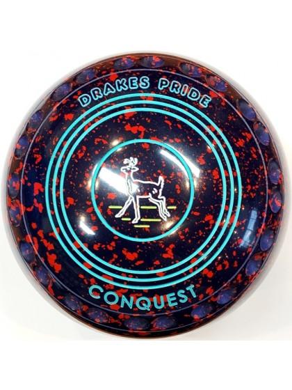 CONQUEST SIZE 4H GRIP DARK BLUE RED R5 6793