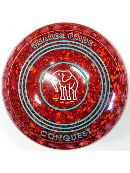 CONQUEST SIZE 3H GRIP MAROON RED ORANGE R7 6607