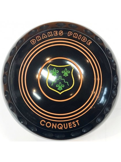 CONQUEST SIZE 2H GRIP BLACK R3 8757