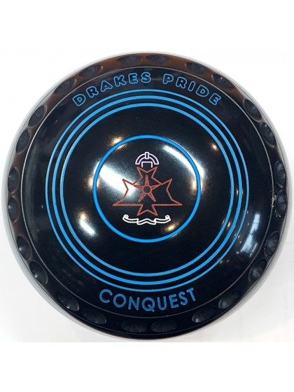 CONQUEST SIZE 2H GRIP BLACK R4 8757